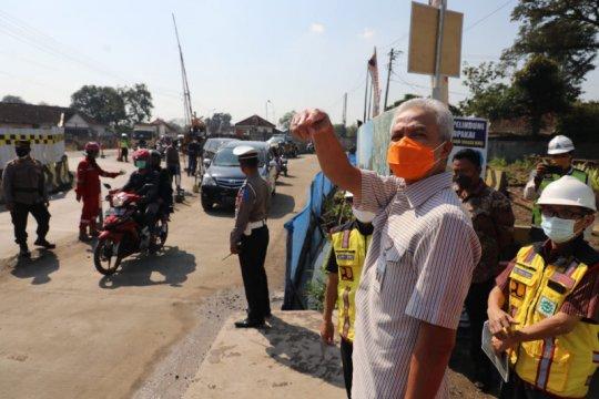 Ganjar: Pembangunan Jalan Layang Ganefo Mranggen mulai dikerjakan