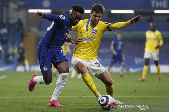 Chelsea ditahan Brighton & Hove Albion  0-0