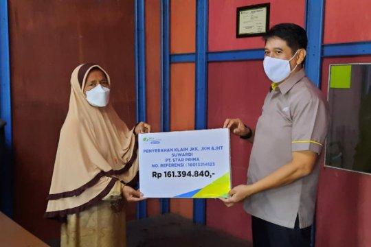 BPJAMSOSTEK Semarang Majapahit serahkan 3 santunan total Rp161 juta