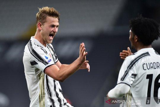 Juventus naik ke posisi ketiga klasemen sementara