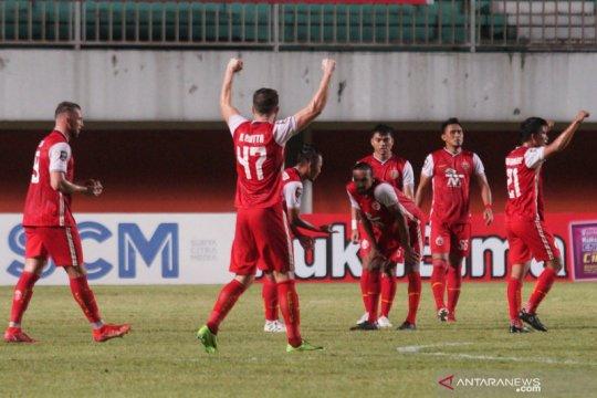 Pelatih minta pemain Persija  2-0 lupakan kemenangan leg pertama final