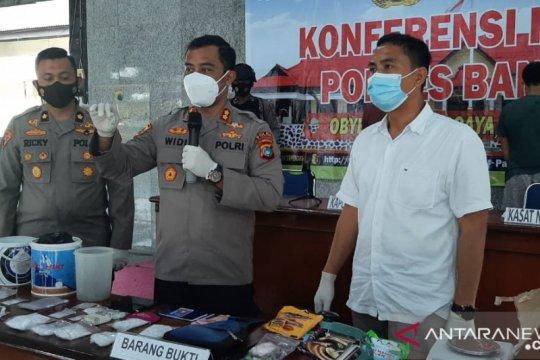 Satnarkoba Bangka amankan barang bukti 1 kilogram sabu-sabu