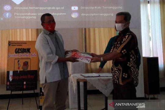 Gesbuk Temanggung bagikan 300 buku ke masyarakat