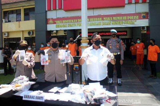 22 tersangka narkotika ditahan Polresta Surakarta