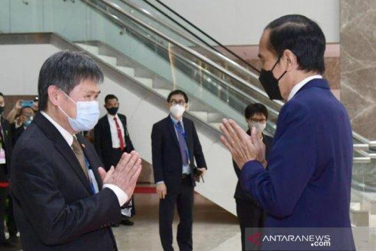 Cari solusi soal Myanmar, Presiden Jokowi hadiri ASEAN Leaders' Meeting