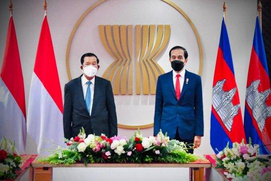 Presiden Jokowi gelar pertemuan bilateral dengan PM Kamboja