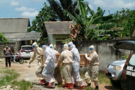 Angka kematian pasien COVID-19 di Bangka capai 39 orang