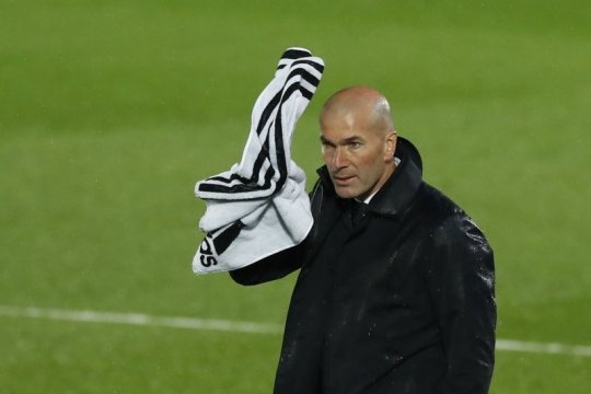 Zidane: Real Madrid kehilangan ketajaman saat diimbangi Betis
