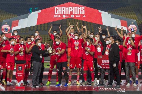 Sudirman bangga Persija juara Piala Menpora 2021