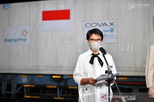 Menlu Retno: Waspadai kenaikan kasus COVID-19 secara global