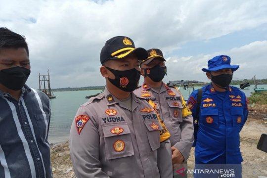 Polda Babel tertibkan penambangan timah ilegal di Bangka Tengah