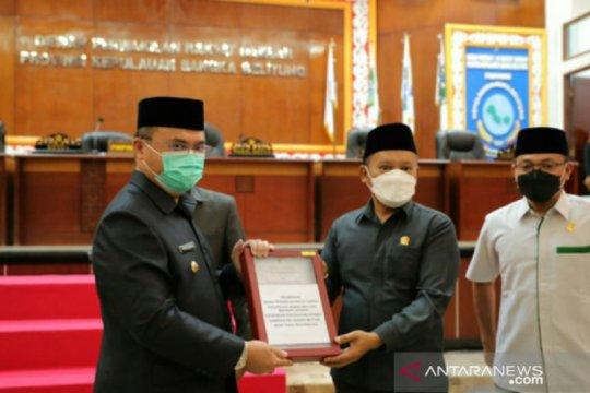 DPRD Babel sampaikan 17 rekomendasi LKPJ Gubernur TA 2020