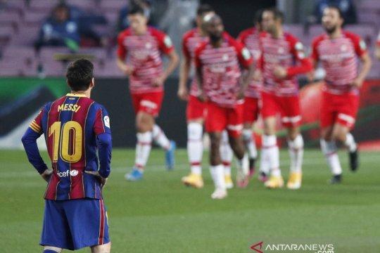 Barcelona membuang peluang untuk naik ke puncak klasemen