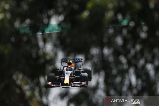 Jelang F1 GP Portugal, para pebalap ikuti sesi latihan bebas