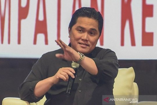 Erick Thohir pastikan tujuh BUMN akan dibubarkan pada 2021