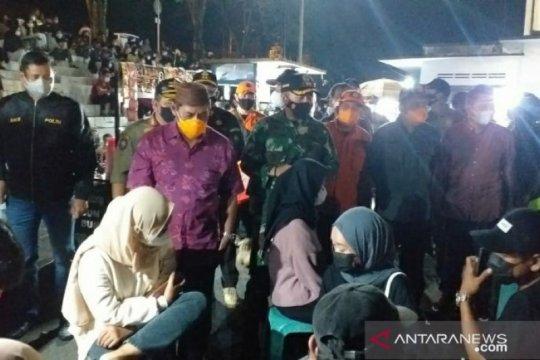 Forkopimda Belitung gelar operasi yustisi cegah penyebaran COVID-19