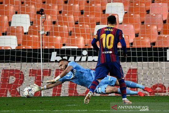 Menang lawan Valencia, Barcelona jaga peluang juara liga