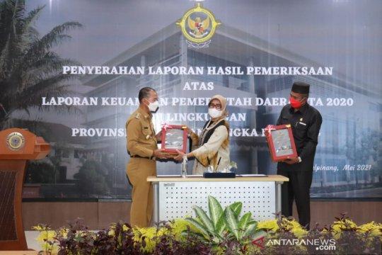 Kabupaten Bangka Kembali Raih Penghargaan WTP Yang Kelima Kali
