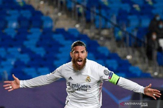 Sergio Ramos dipastikan dalam kondisi bugar untuk menghadapi Chelsea