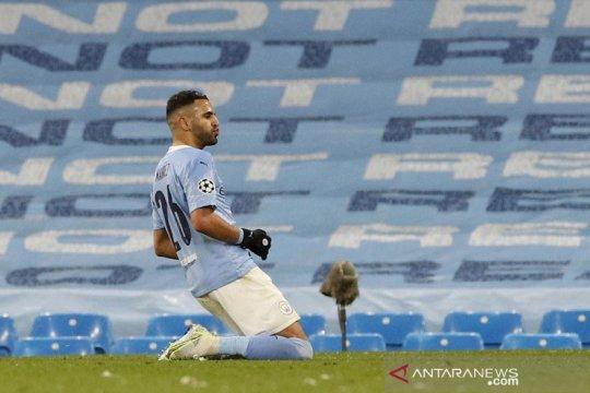 Manchester City mencapai partai final Liga Champions perdananya usai taklukkan PSG