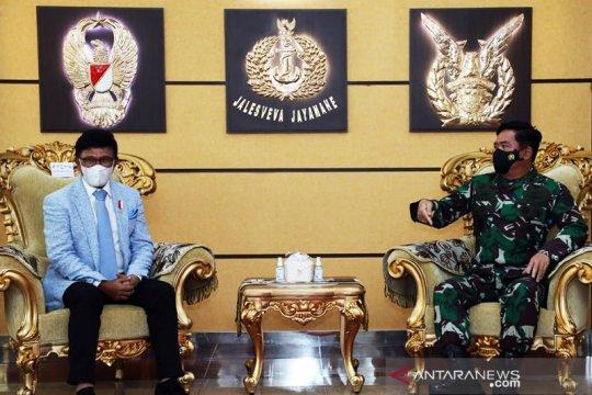Kemenkominfo akan gandeng TNI amankan pembangunan infrastruktur digital