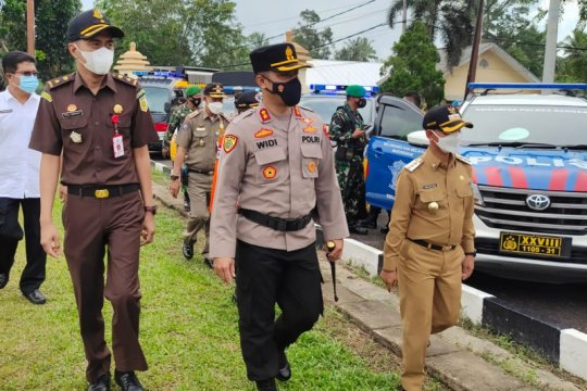 Polres Bangka dirikan tiga pos operasi Ketupat Menumbing 2021
