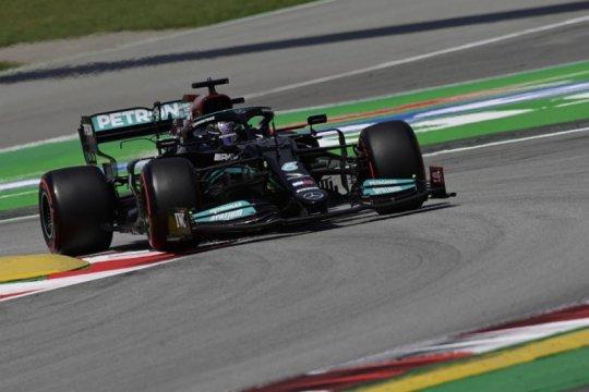 Lewis Hamilton tercepat di FP2 GP Spanyol, ungguli Bottas dan Leclerc