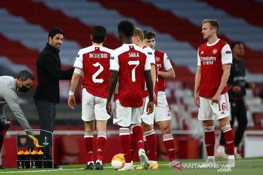 Gagal ke final Liga Europa, Arteta kecewa penampilan Arsenal lawan Villarreal