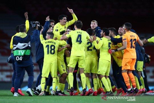 Villarreal patahkan dominasi tim-tim Inggris di final Eropa setelah singkirkan Arsenal 2-1