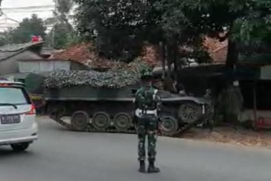 Kodam Jaya klarifikasi video viral tank halau pemudik
