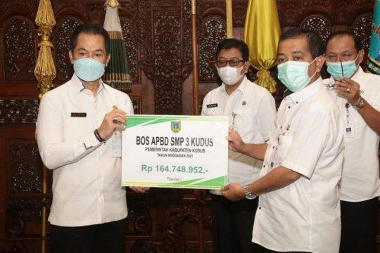 Pemerintah Kudus cairkan dana BOS triwulan pertama Rp10,76 miliar