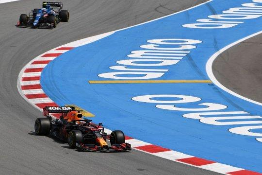 Max Verstappen tercepat di FP3 GP Spanyol, Ferrari unjuk gigi