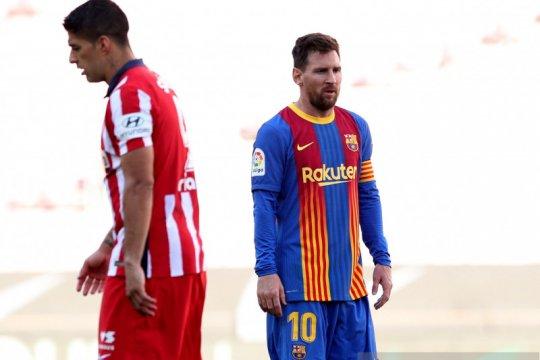 Barcelona kontra Atletico Madrid berakhir imbang