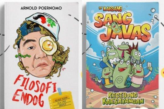 Chef Arnold dan Kaesang Pangarep rilis buku dengan genre berbeda