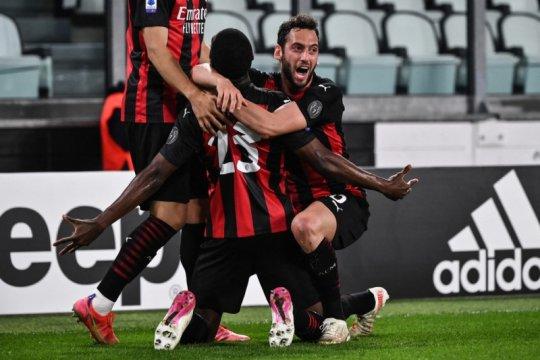 Juventus ditundukkan Milan 0-3