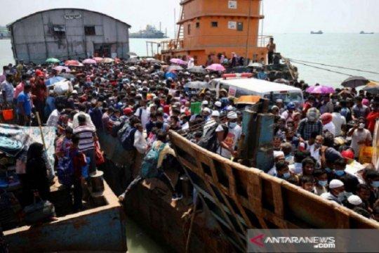 Tradisi Mudik Ala Bangladesh Di Tengah Pandemi COVID-19