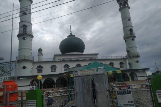 Masjid Jami' Pangkalpinang batasi durasi Khutbah Sholat Idul Fitri