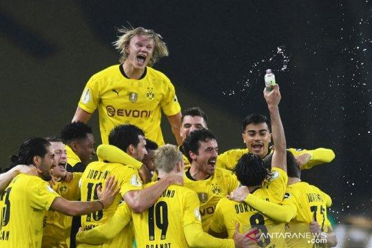 Dortmund juarai Piala DFB Pokal usai gilas Leipzig 4-1