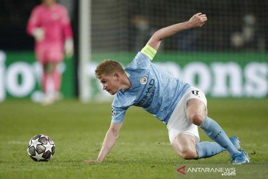 Kevin de Bruyne menepi saat City tandang ke Newcastle
