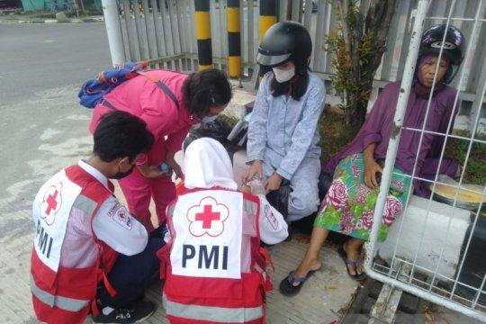 Pos Siaga Lebaran PMI Pangkalpinang bantu korban lakalantas