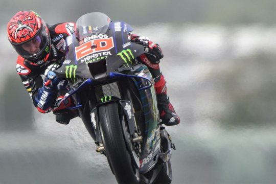 Fabio Quartararo raih pole position GP Prancis, Marquez keenam