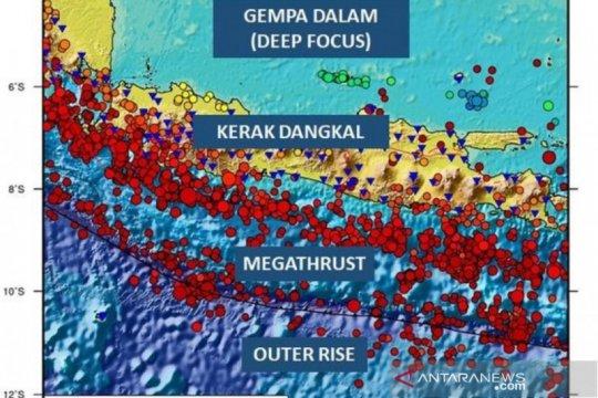 BMKG: Gempa di luar zona subduksi dapat picu tsunami