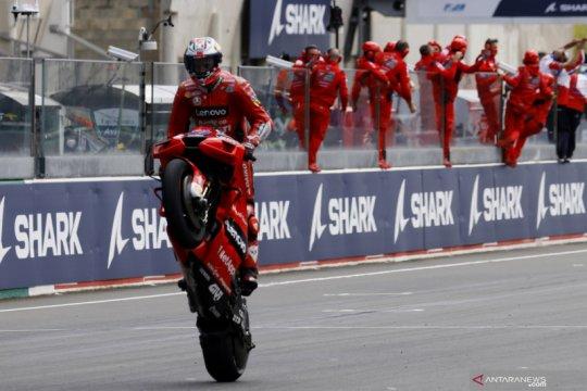 Jack Miller juarai GP Prancis di tengah cuaca 'semrawut' Le Mans