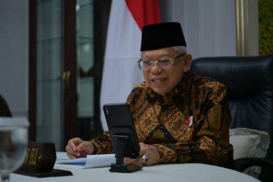 Wapres Ma'aruf terima telepon Menteri Senior Singapura
