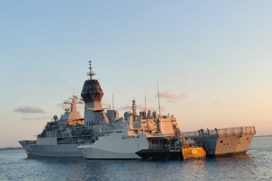 Danlantamal V apresiasi penyelamatan ABK oleh Kapal Australia