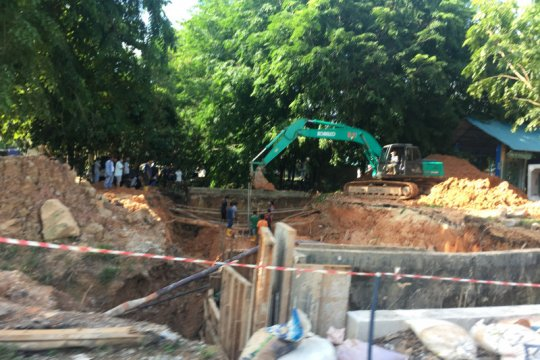 Pembangunan gorong-gorong di Jalan Gajahmada Page 1 Small