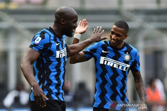 Inter Milan menutup kiprah  di Liga Italia musim 2020/21 dengan mencukur Udinese 5-1