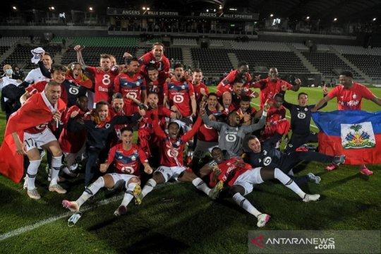 Lille meraih gelar juara Liga Prancis 2020/21 selang satu dasawarsa