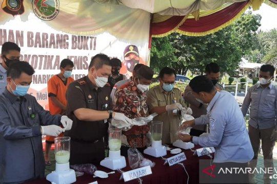Ketua DPRD Bangka apresiasi polisi ungkap satu kilogram narkoba