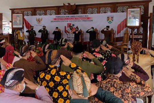 Upacara Hari Lahir Pancasila, Forkopimda Kota Magelang pakaian adat